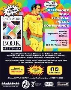 Baltimore Book Festival Logo