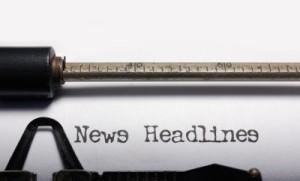 typewriter News Headlines