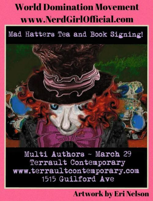 mad hatter's tea & book signing